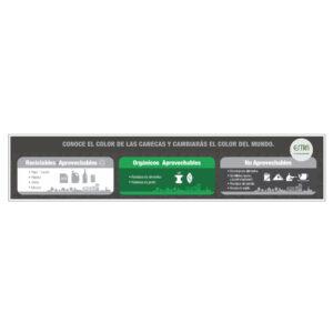 adhesivo punto ecológico 3 ptos 10 lt