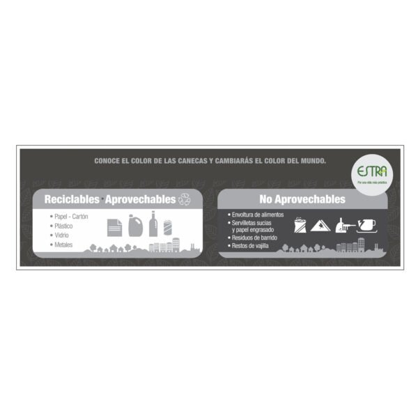 Adhesivo Punto Adhesivo Punto Ecologico 35-53Lt x2 Puestos